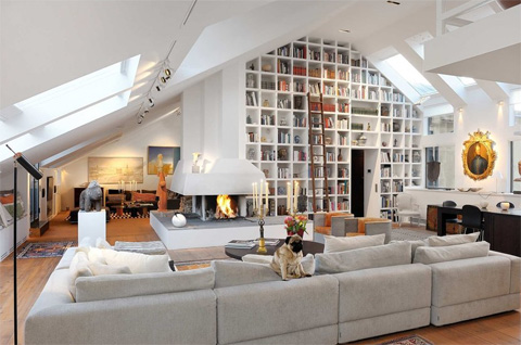 Modern 1850s Penthouse In Stockholm Beautiful Interiors