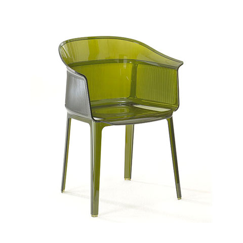 modern plastic chair papyrus 2 - Papyrus Armchair: modern simplicity