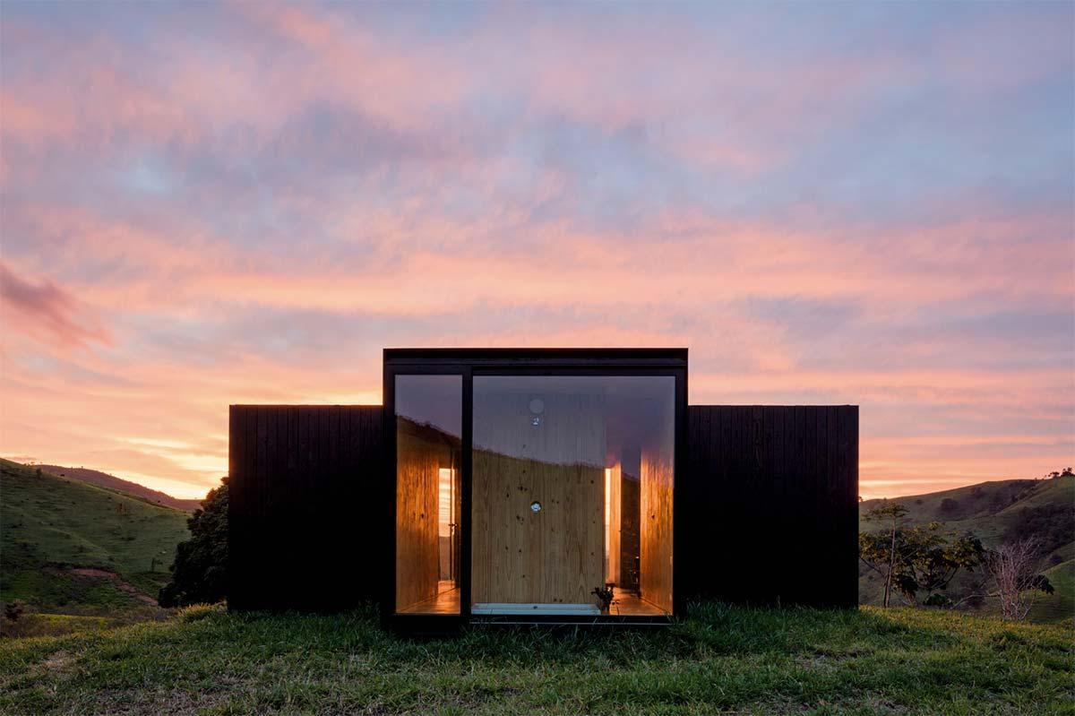 Modern Prefab Cabin Tiny Prefab Minimod Home A New Take On The Small Cabin