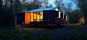 modern prefb cabin 300x140 - The Week'nder