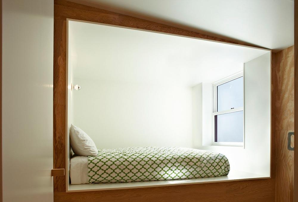 modern prefb cabin bedroom lzr - The Week'nder