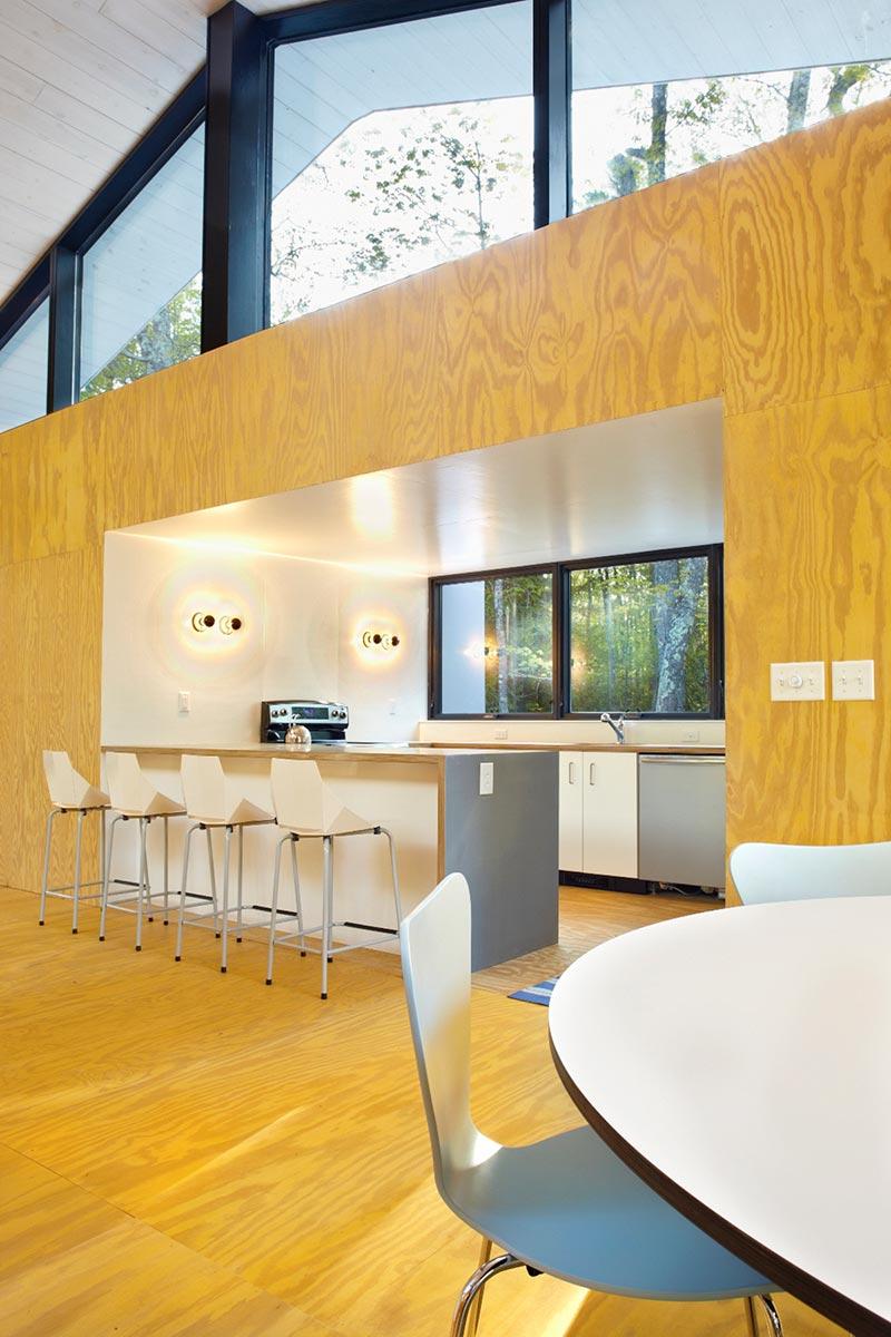 modern prefb cabin kitchen lzr - The Week'nder