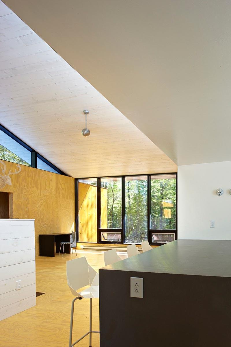 modern prefb cabin living lzr - The Week'nder