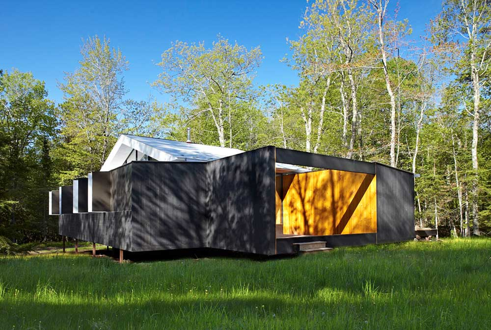 modern prefb cabin lzr - The Week'nder