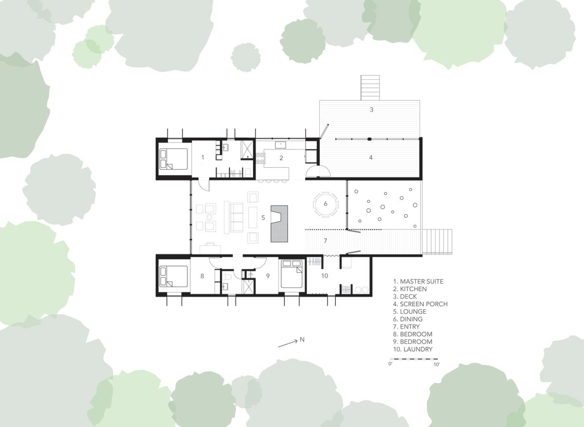 modern prefb cabin plan 2 - The Week'nder