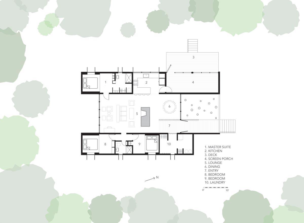 modern prefb cabin plan 2 - The Week'nder
