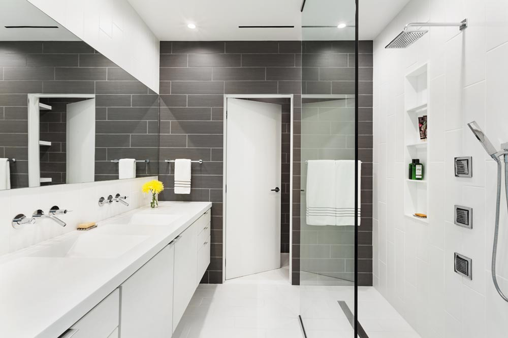 modern river home design bathroom cb - Boetger Home