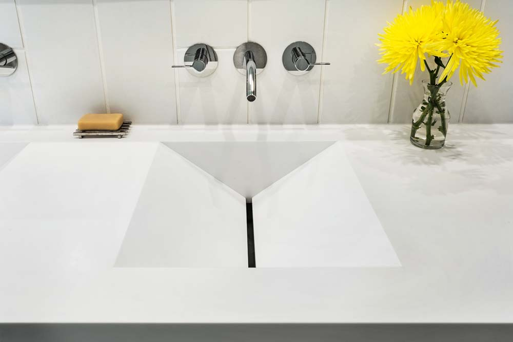 modern river home design sink cb - Boetger Home