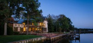modern river house ga 300x140 - Home on the Intracoastal Waterway