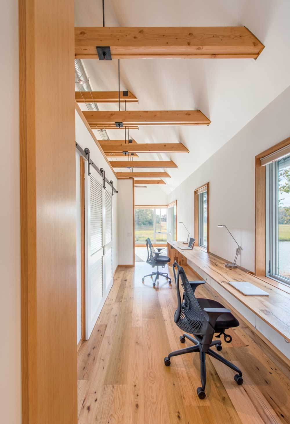 modern river house office ga - Home on the Intracoastal Waterway