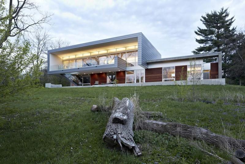 modern river house sda1 800x534 - Riverview House