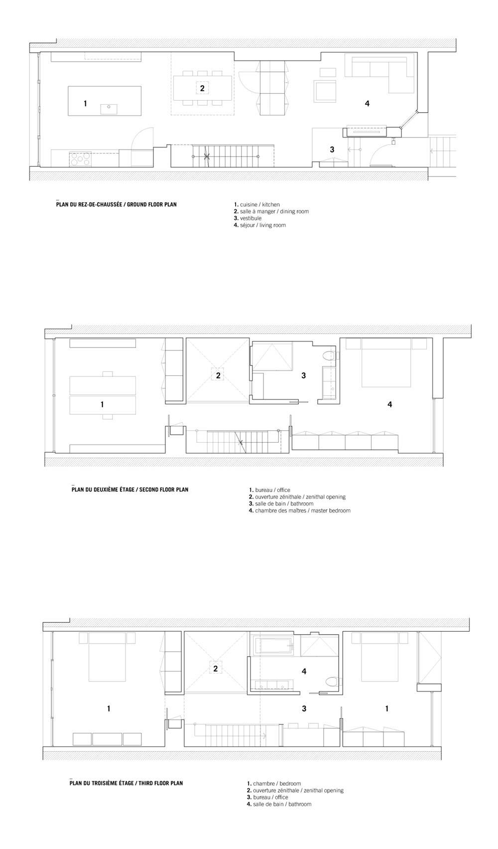 Modern row house concept