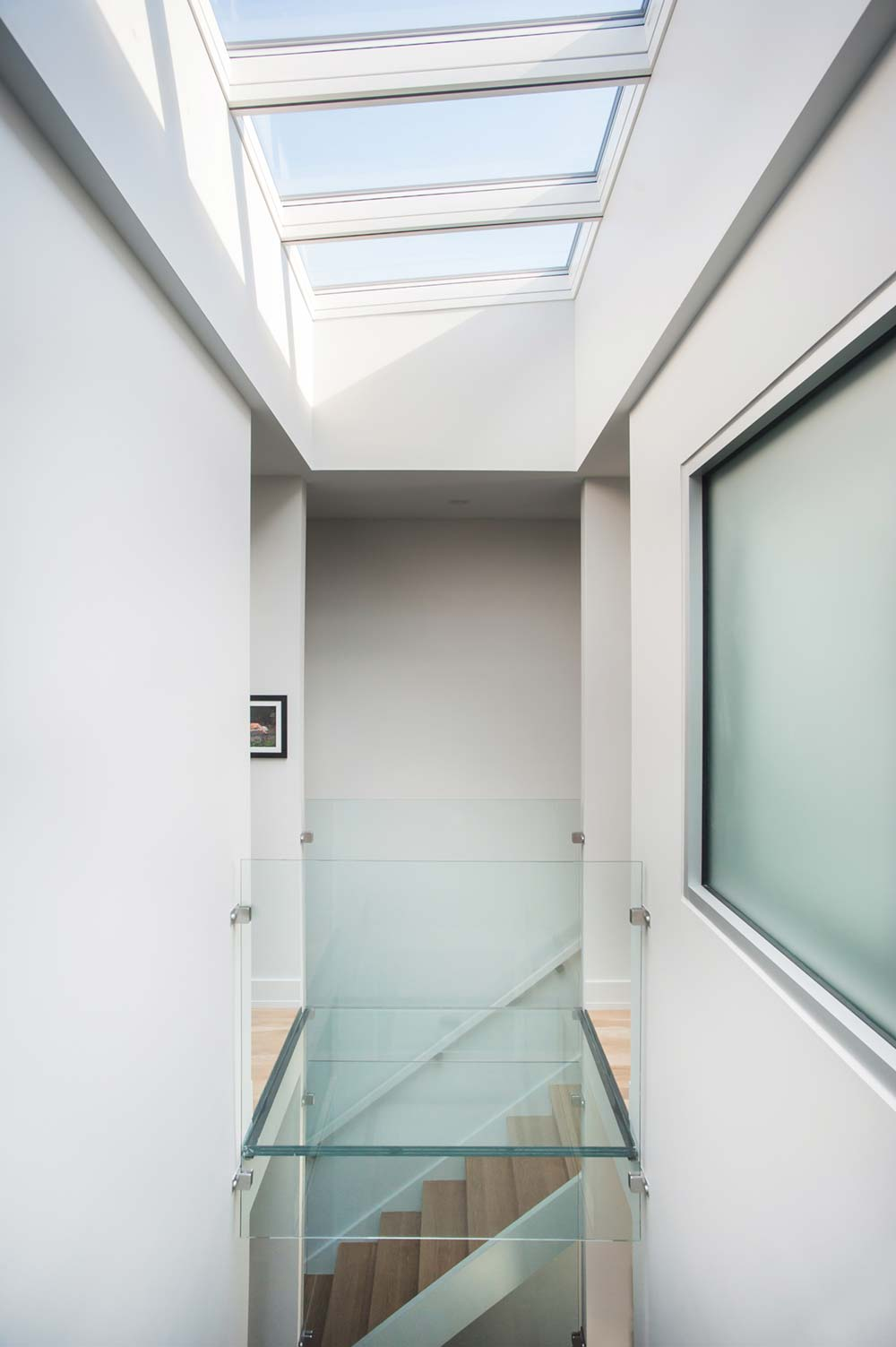 modern row house skylight design smbw2 - Richmond Row House