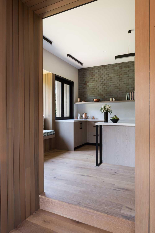 modern split level home design - House Under Eaves