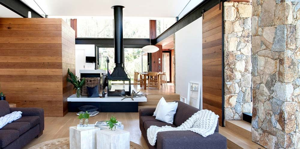 Beautiful Modern Stone House In The AU Bush