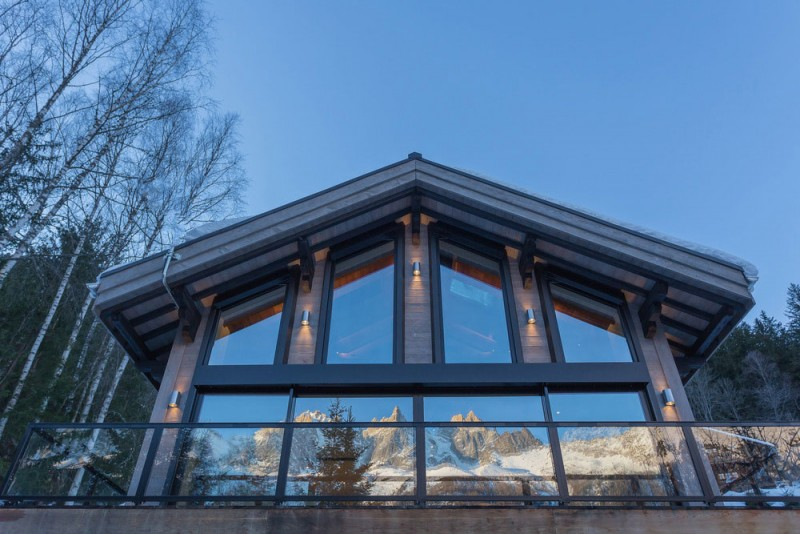 Chalet dag modern architecture
