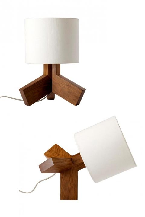 Rook table lamp light with an attitude lighting modern table lamp rook aloadofball Choice Image