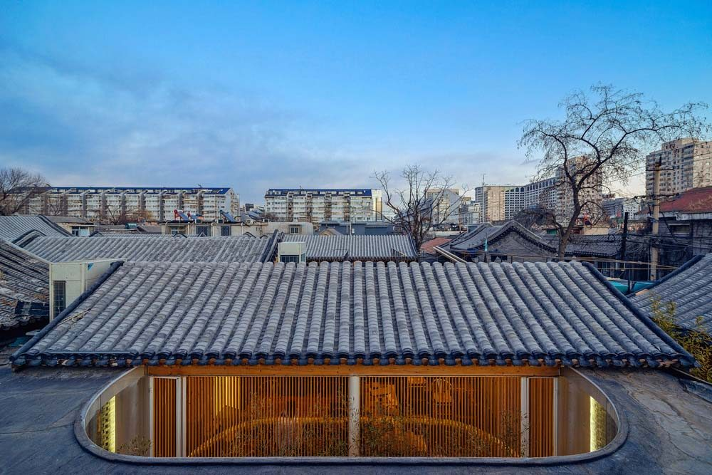 modern tea house arch 1000x667 - Tea House in Hutong