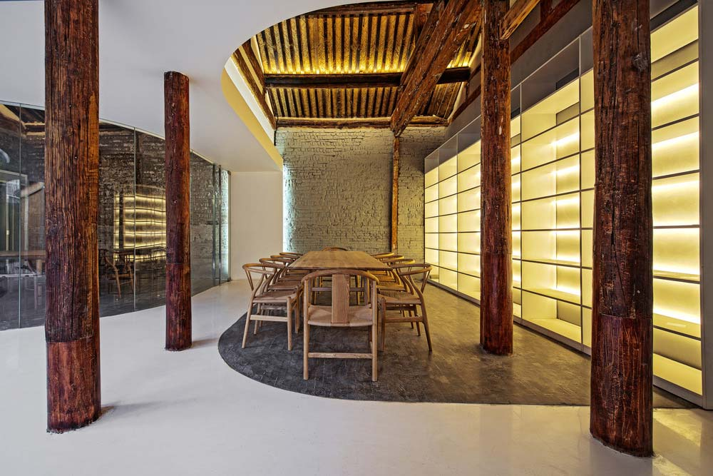 modern tea house arch10 - Tea House in Hutong