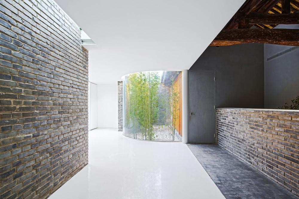 modern tea house arch3 - Tea House in Hutong