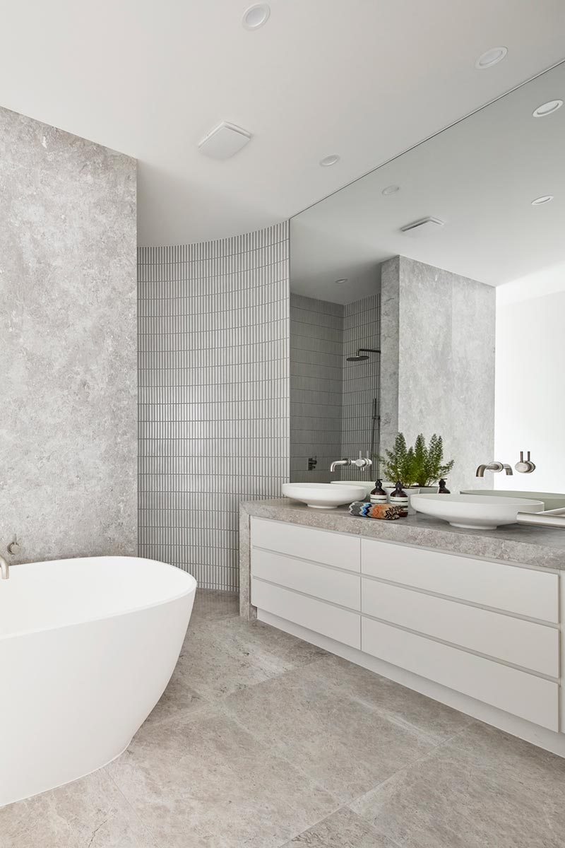 modern townhouse bathroom design 1 - Cressy Townhouses
