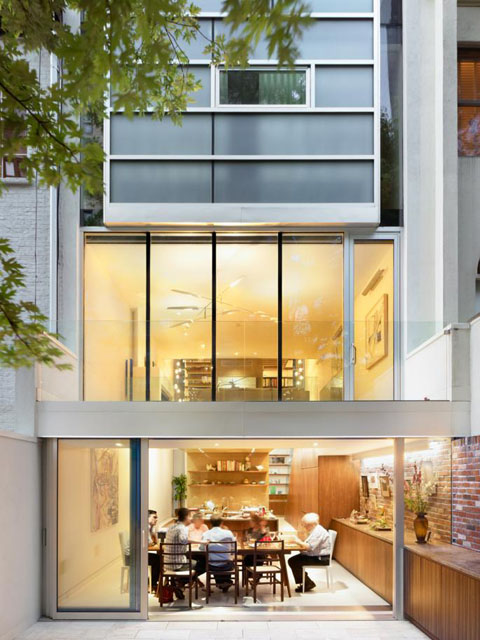 Urban townhouse: living in the city that never sleeps