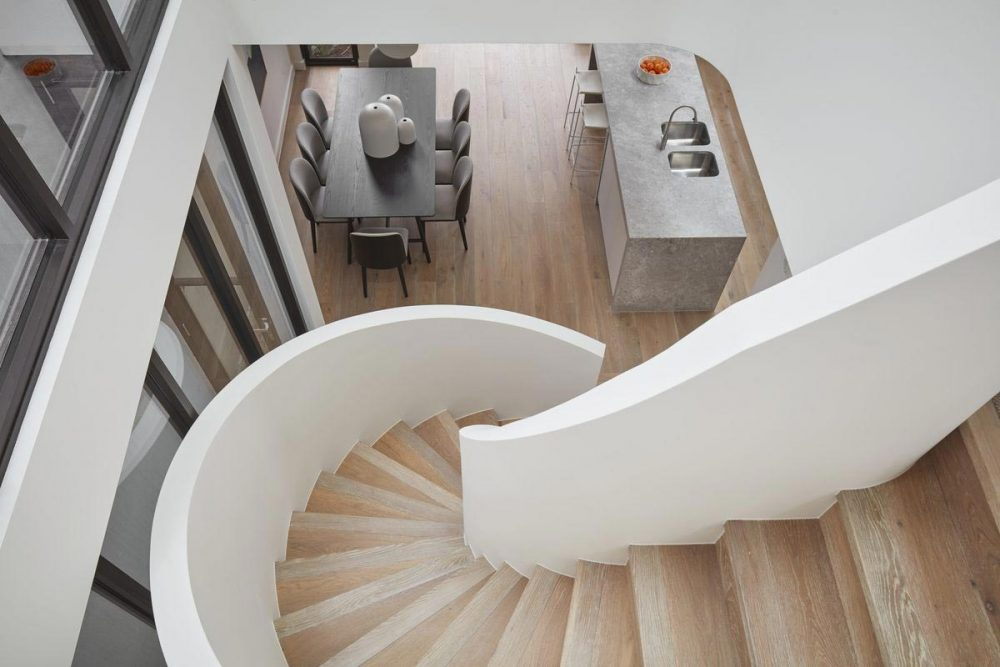 modern townhouse stairs above 1000x667 - Cressy Townhouses