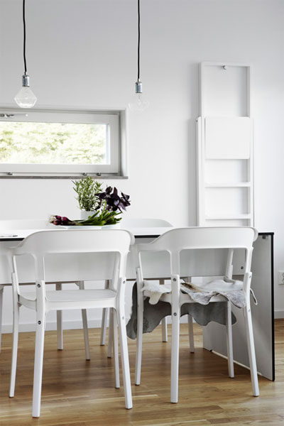 modern urban living 8 - A rather ideal way of urban living, all in white, black and grey