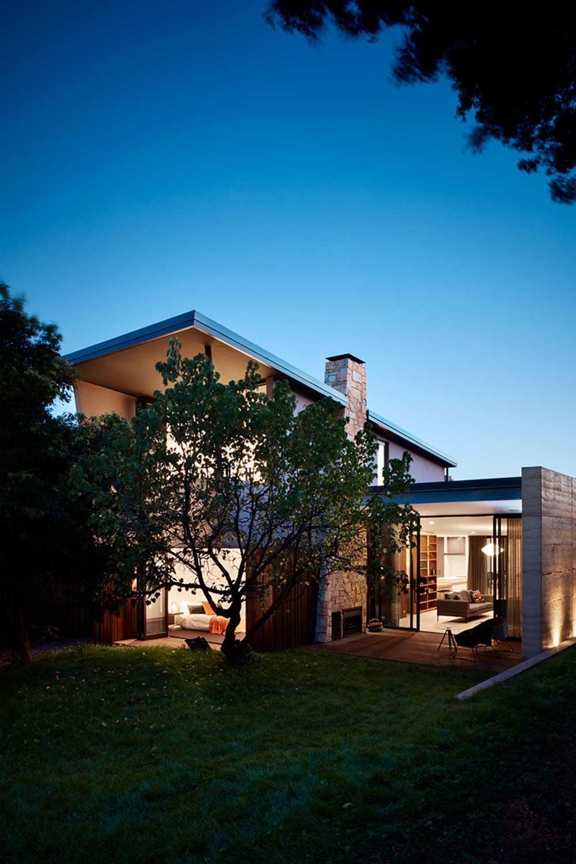 modern victorian house exterior ba - Grasmere