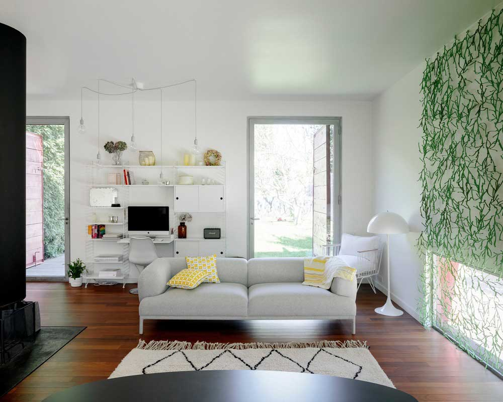 modern villa living room design - GOM House