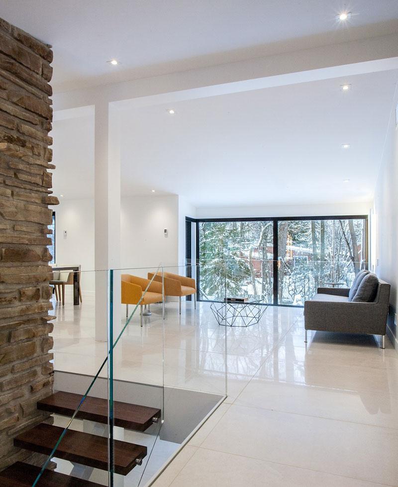 Warm Contemporary Interiors: Beautiful Interiors