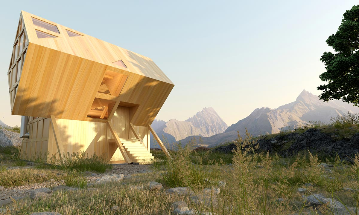 Valley House - Modern abins - ^