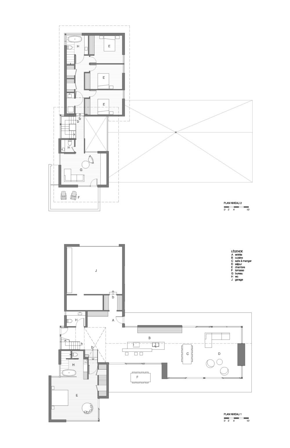 modern wooden cabin plans - The Wooden Wing