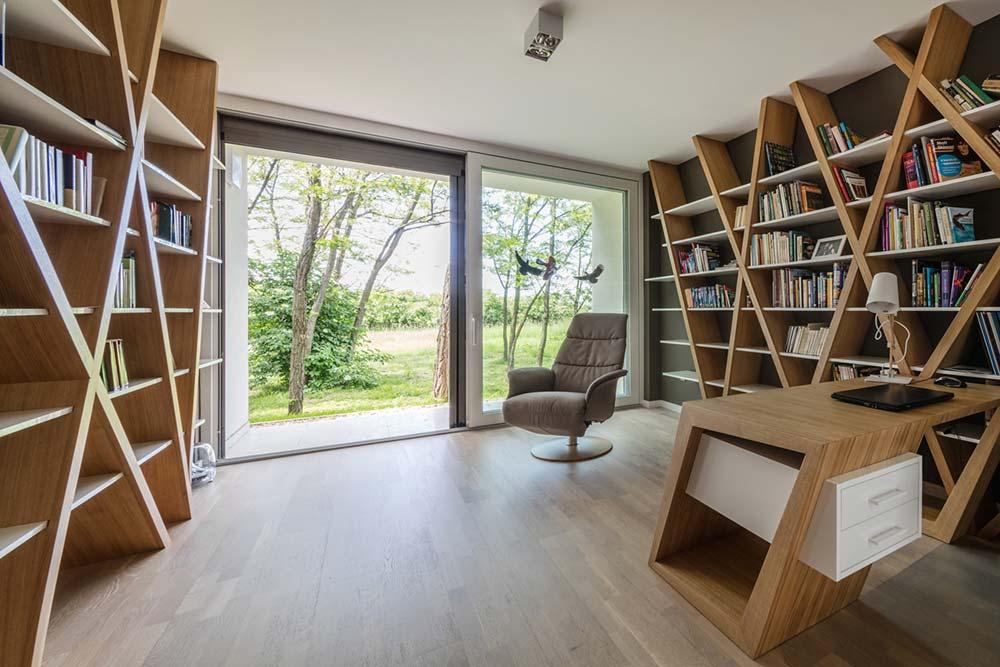 modern wooden house study arc - Modern Wooden House