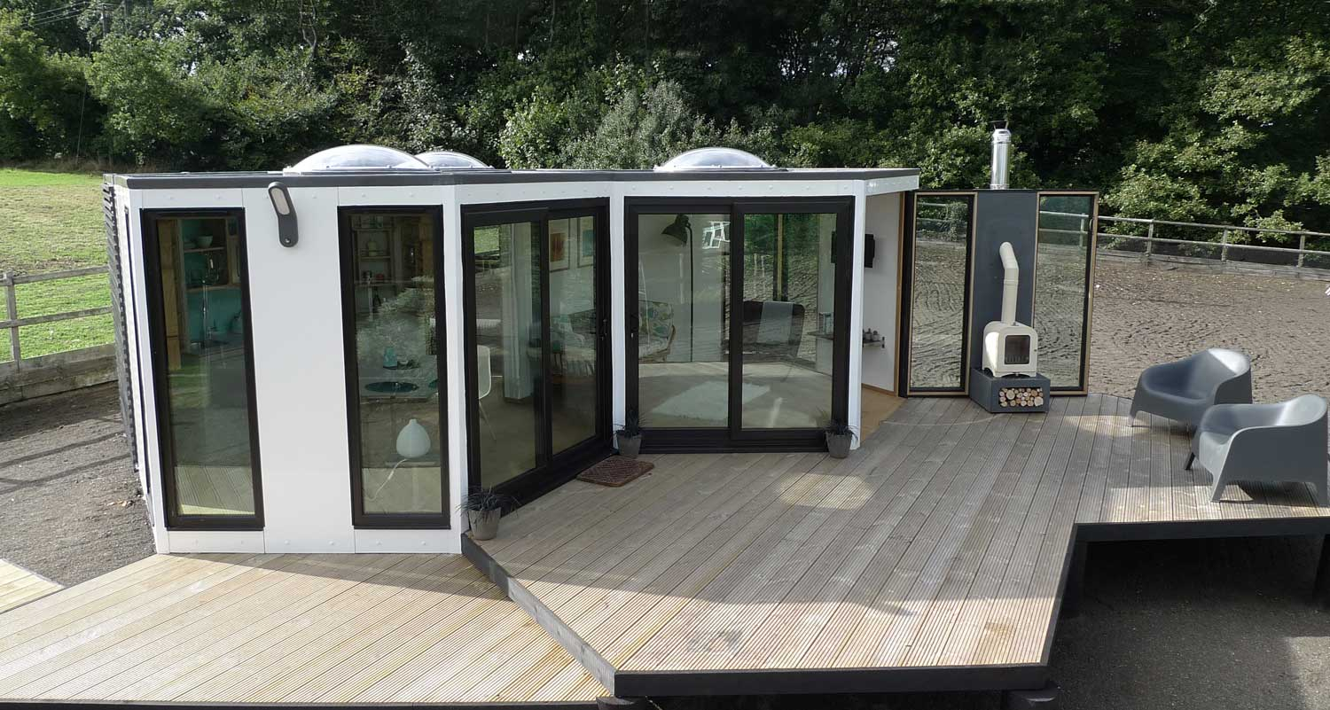 Hivehaus prefab homes for Hive container homes