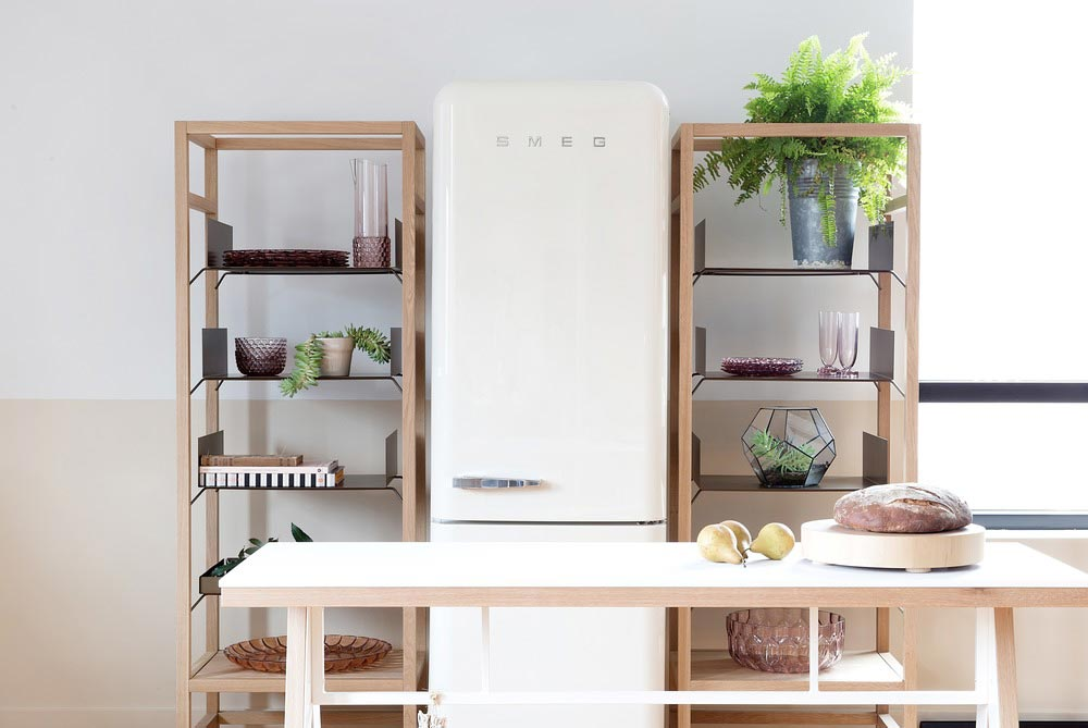 modular kitchen design shelving - Coquo Modular Kitchen