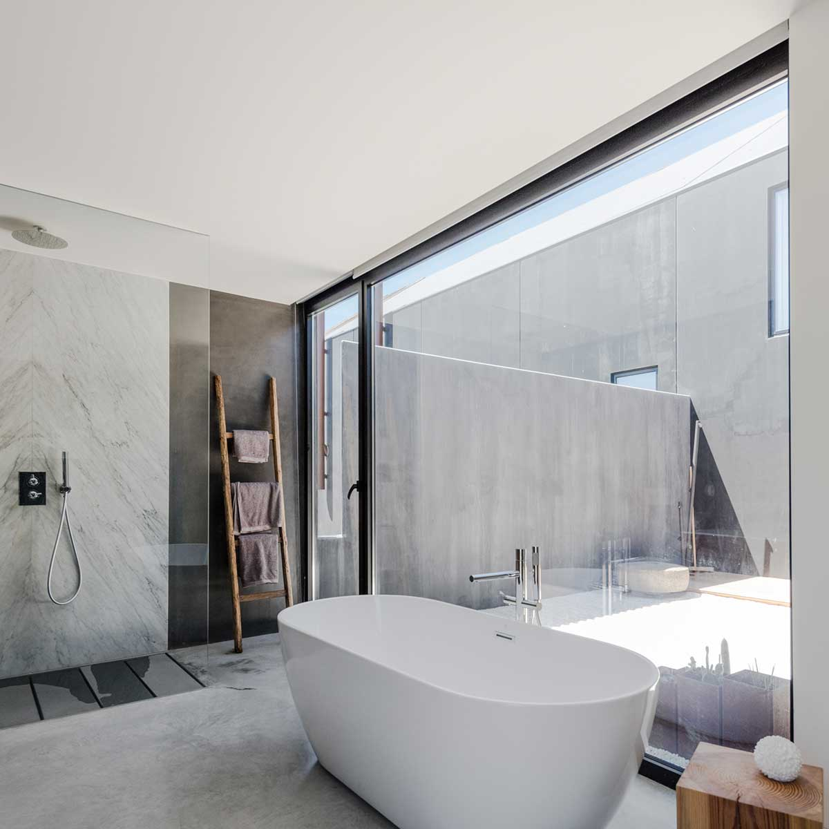modular prefab house bathroom - House in Ourem