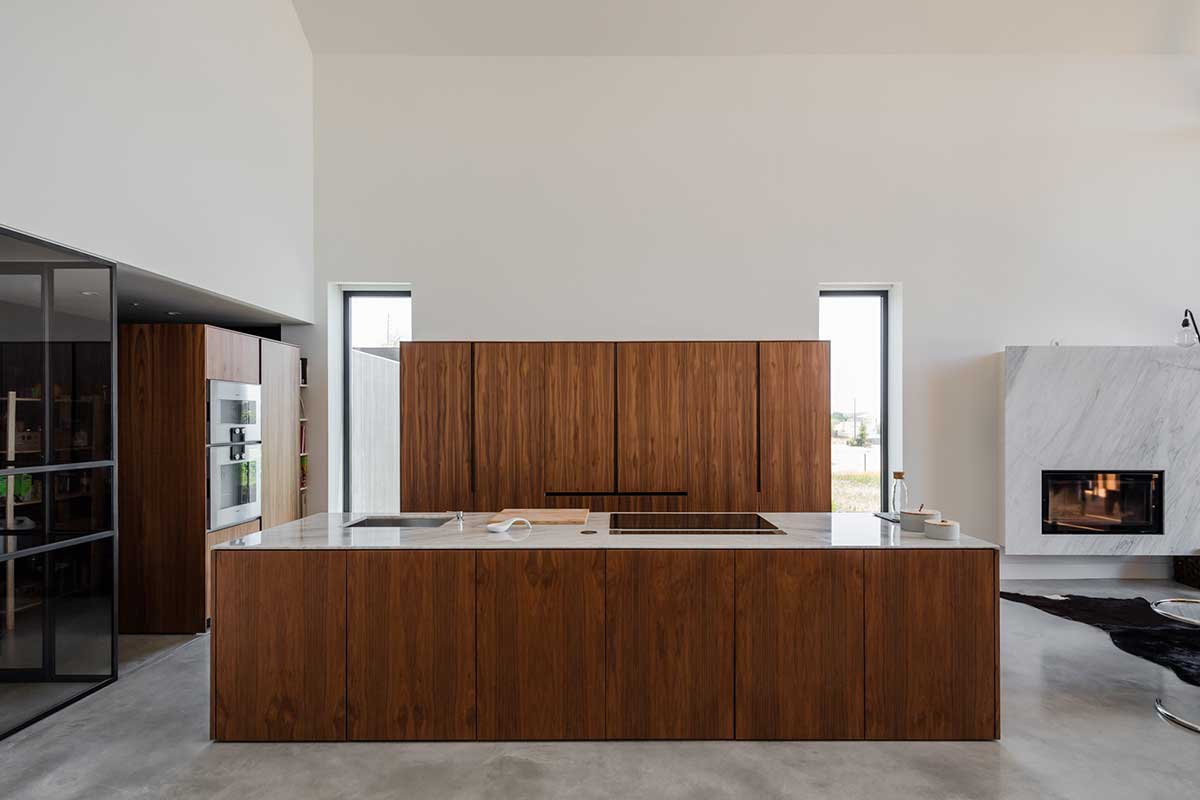 modular prefab house kitchen - House in Ourem