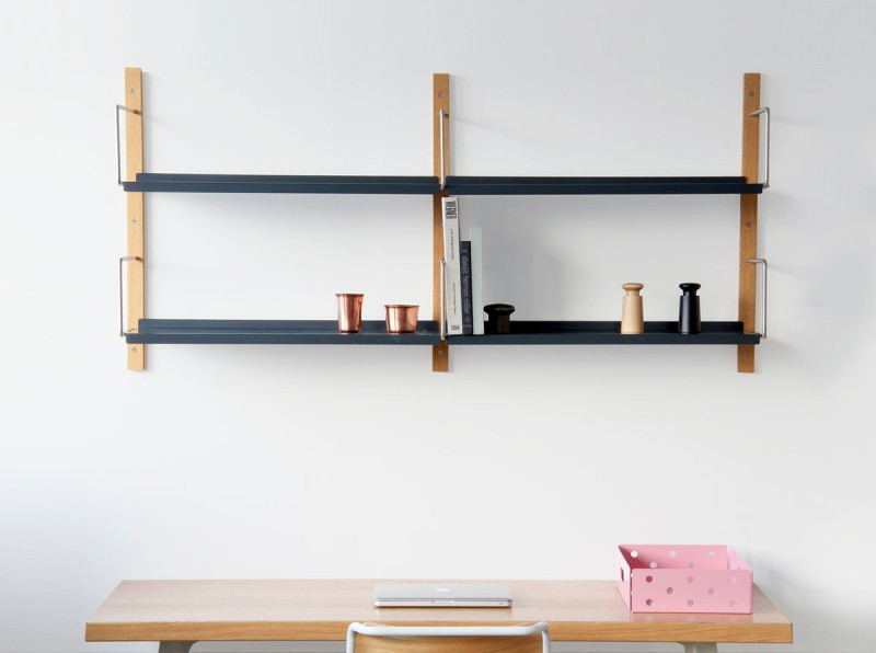 modular steel shelving vgp 800x596 - Croquet Shelving Wall