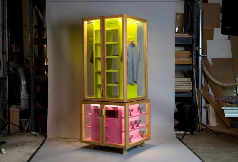 modular wardrobe ropero 800x543 - Ropero Wardrobe