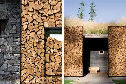 Stone Creek Camp Firewood Stone And Grass Modern Cabins