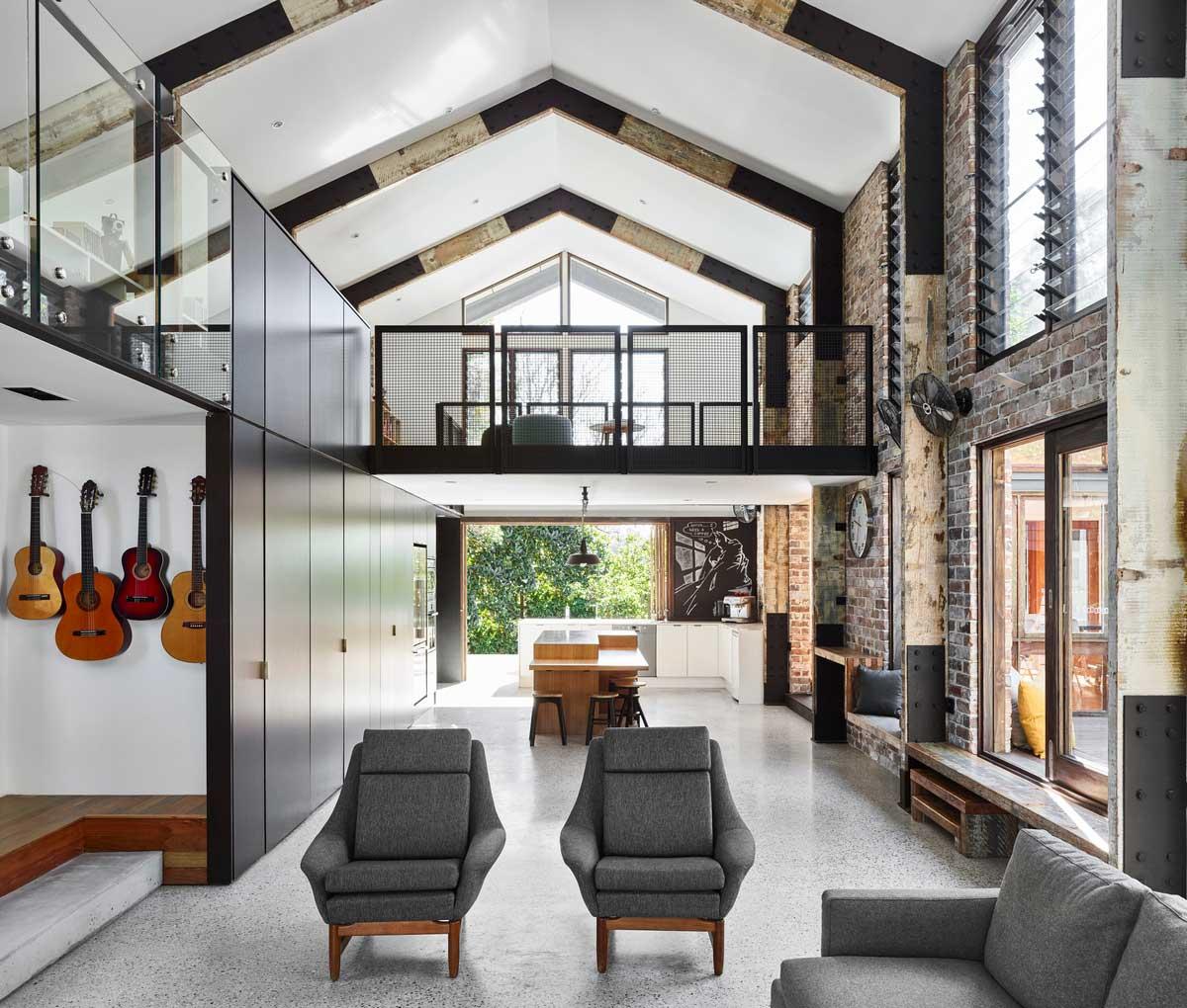 mountain home mezzanine ms - Glasshouse Mountain Residence