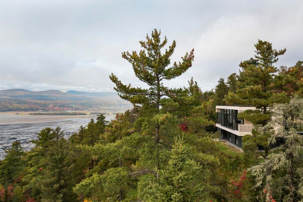 mountainside house design aca 1000x667 - Residence Le Nid