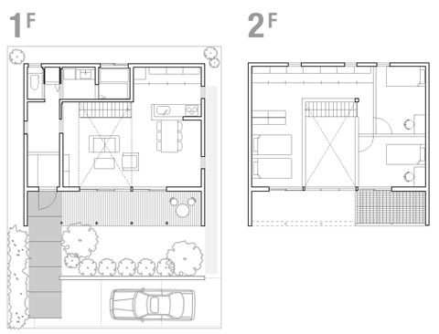 Japanese-House-Plans - WoodsShop Creative Builders, San Diego
