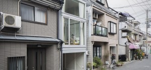 narrow house japan yyaa 300x140 - Narrow House in Osaka