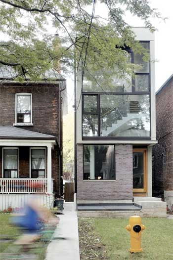 Ultra modern narrow lot plan joy studio design gallery Homes on narrow lots