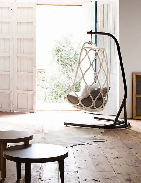 nautica swing chair a must for my future summer house furniture garden patio. Black Bedroom Furniture Sets. Home Design Ideas