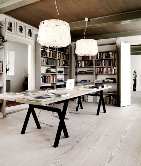 22 Scandinavian Home Office Designs Decorating Ideas: A Modern Fairy Tale House In Denmark