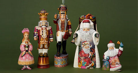 Christmas Nutcracker Ornaments - Holiday Decor