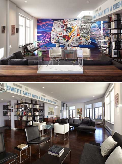 NYC Apartment Design: Home for Art Collectors - Beautiful Interiors
